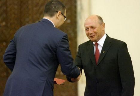 """Ponta şi Băsescu au semnat un pact de """"colaborare interinstituţională"""""""