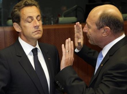 Băsescu l-a enervat iar pe Sarkozy