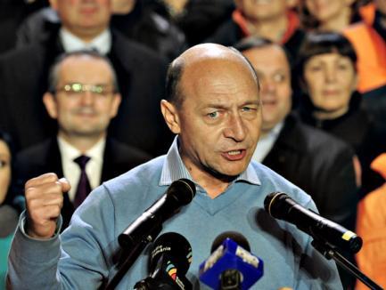 În Bihor, a câştigat Băsescu