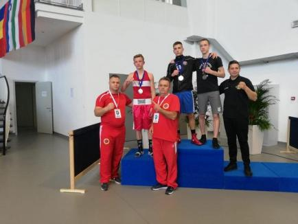 Patru medalii pentru pugiliştii de la Basti Box Salonta la 'Zagreb Open 2019'