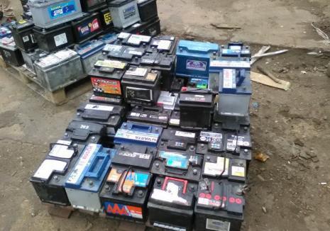 Pedeapsă grea pentru un şofer de TIR prins în vama Borş cu 22 de tone de acumulatori uzaţi: 4 ani de detenţie (FOTO)