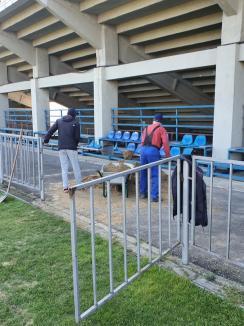 De bine, din pandemie: Bazele sportive din Oradea arată mai bine, după ce au intrat în reabilitare (FOTO)