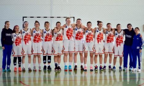 Victorie de excepţie: Baschetbalistele U16 de la BCU Oradea le-au învins pe sportivele de la CSS Satu Mare