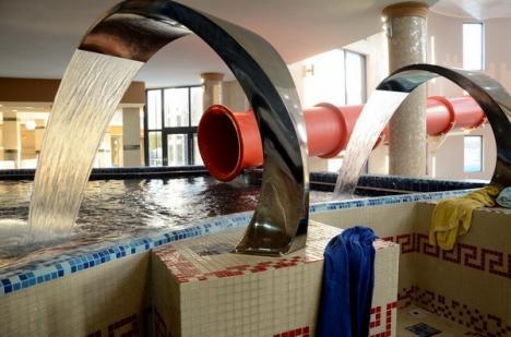 În sfârşit, şi Felixul! Hotel President deschide luni primul aquapark (FOTO)