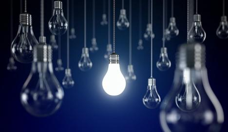 Factura la energie electrică scade cu 2,6%