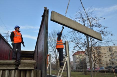 Soluţii anti-gălăgie, pe centura Oradiei: Se montează paravane împotriva zgomotului (FOTO)