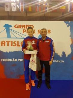 Bianca Benea şi-a adjudecat medalia de bronz la etapa de Cupă Mondială pentru juniori de la Bratislava!