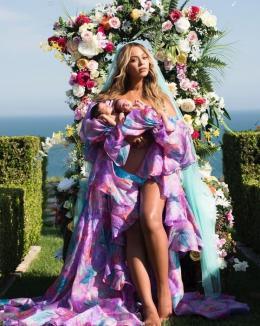 Fotografie virală: Beyonce, luată la mişto de o mămică din Irlanda