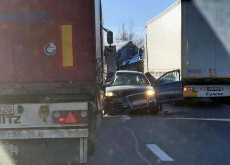Accidentul de pe Piatra Craiului a fost provocat de un şofer din Oradea, la volanul unui Audi