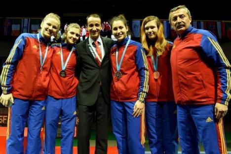 Bianca Benea a cucerit medalia de bronz la Europenele de scrimă pentru cadeţi