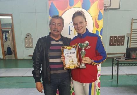 Bianca Benea a ocupat locul VI la întrecerile Trofeului Internaţional de Spadă 'Alfredo Bachelli'