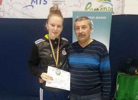 Bianca Benea va participa la Campionatului European de scrimă pentru cadeţi şi juniori de la Novi Sad