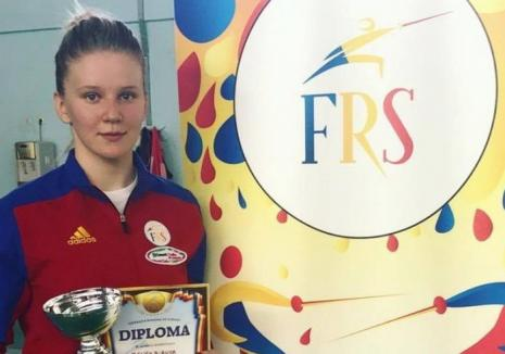 Bianca Benea s-a clasat pe locul 19 la etapa a IV-a a Cupei Mondiale de spadă pentru juniori, de la  Luxembourg