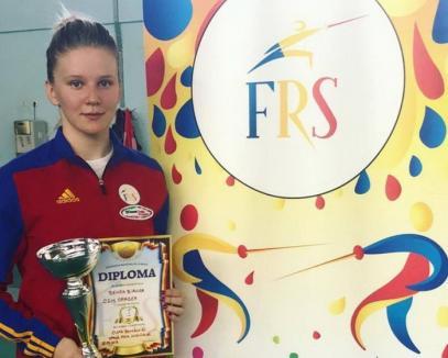 Bianca Benea a câştigat Cupa României la spadă feminin individual