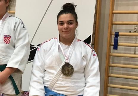Bianca Suciu a fost convocată la lotul naţional de judo junioare