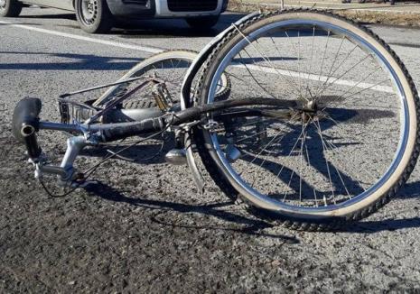 Accident mortal lângă Săcueni: Un biciclist băut a fost izbit de o maşină