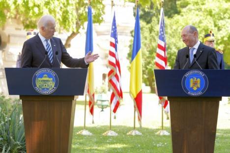 Joe Biden: Sunt mândru că SUA au jucat un mic rol în democratizarea României