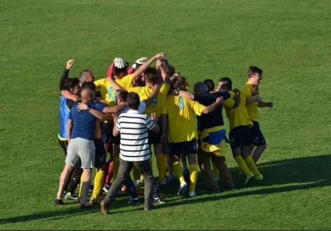 Biharea Vaşcău a promovat în Liga a IV-a, după ce s-a impus cu 2-1 în barajul cu CS Săcueni