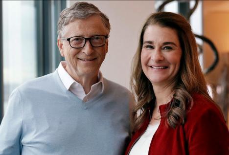 Miliardarul Bill Gates a anunțat că divorțează, după 27 de ani de căsnicie