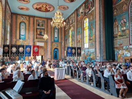 Biserica greco-catolică din Vintere a fost reabilitată, iar în sat a fost inaugurat un punct muzeistic militar (FOTO)