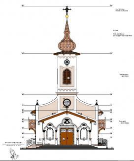 Credincioşii greco-catolici îşi construiesc în Piața Bobâlnei prima biserică din cartierul Ioşia Veche. Vezi cum va arăta! (FOTO)