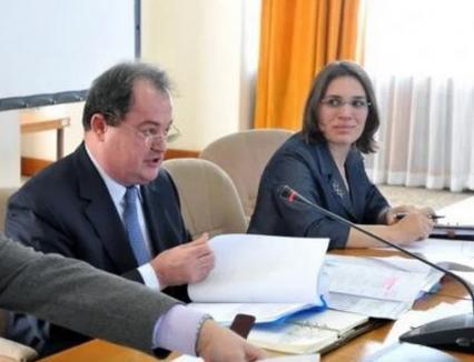 O poliţistă care s-a pensionat la 42 de ani, numită secretar de stat. Era considerată protejata lui Vasile Blaga