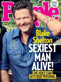 Blake Shelton, cel mai sexy bărbat din lume (FOTO/VIDEO)