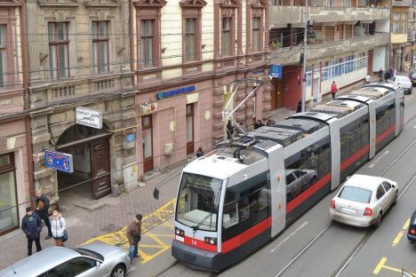 Staţionări tramvaie în 13 septembrie 2021