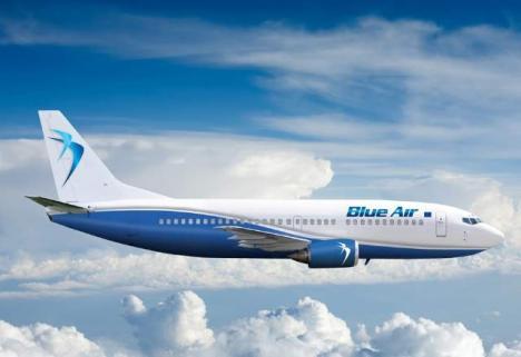 Anunţ al Primăriei: Blue Air va opera, din 2017, curse pe ruta Oradea - Constanţa şi retur