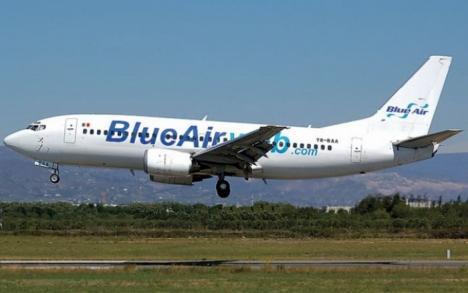 Aeroportul Oradea se aglomerează: Blue Air va zbura spre Bucureşti şi Iaşi de la 90 lei, plus Torino, cu continuare la Roma, Napoli şi Catania, de la 19,99 euro