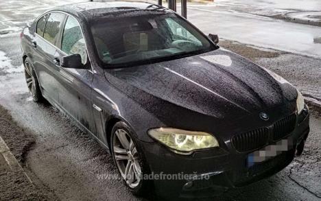 BMW oprit în Borş. Autoturismul fusese furat în aprilie din Germania