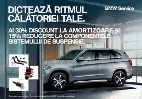 Provoacă sezonul rece cu ofertele BMW Service!