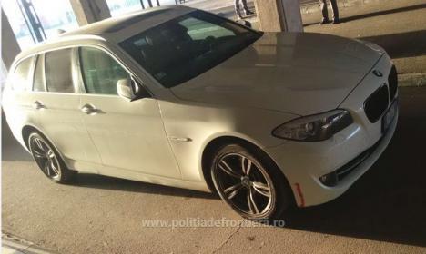 Un BMW de 11.000 de euro, furat din Italia, a fost oprit la frontiera Borş