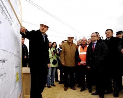 Boc şi Berceanu au vrut să afle dacă pe 1 decembrie se dă în folosinţă centura între Selgros şi Metro