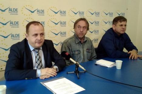 Traian Bodea de la ALDE vrea la şefia CJ Bihor: 'Nu sunt deştept, dar când mă uit în jur, prind curaj'