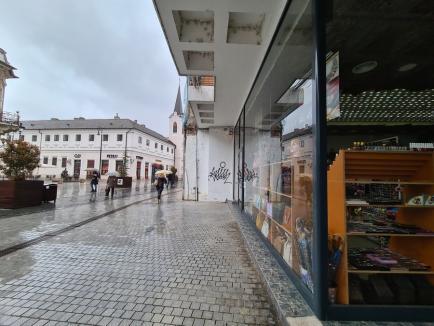 'Boierul' vandal: Poliţia e pe urmele individului care mâzgăleşte palatele din Oradea. E bănuit fiul unui cunoscut politician (FOTO)