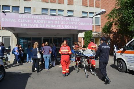 Ţap ispăşitor după revolta de la UPU-SMURD Bihor: Şefa Serviciului Personal al Spitalului Judeţean a demisionat