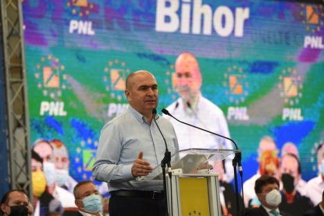 Bihorel: Fragmente din discursul lui Ilie Bolojan la congresul PNL din 25 septembrie 2021