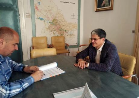 Parafat în Vinerea Mare. Primarul Ilie Bolojan anunţă că a semnat contractul pentru reabilitarea Colegiului 'Mihai Viteazul' din Oradea