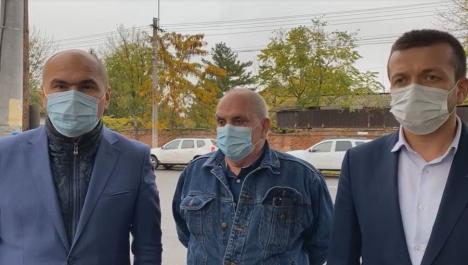 Un nou spital în Oradea, anunţat de Bolojan, Birta şi Carp: 'Va corespunde cerinţelor secolului XXI'(VIDEO)