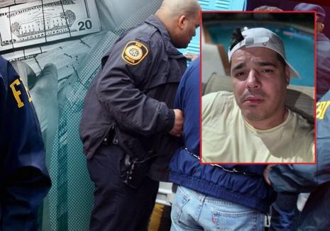 Cunoscutul interlop Bombardieru', care a acţionat şi în Oradea, săltat de FBI după ce a fost prins cu carduri clonate la un bancomat!
