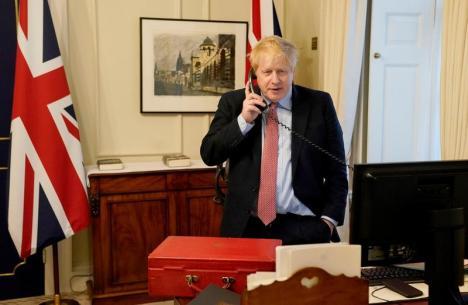 Premierul Boris Johnson a fost diagnosticat cu coronavirus! (VIDEO)