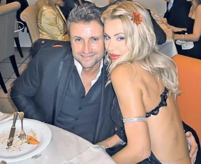 Bote are o nouă blondă: s-a cuplat cu italianca Valeria Marini
