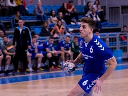Handbalistul de la CSM Oradea Tudor Botea, convocat la lotul național de seniori