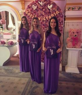 Botez cu VIP-uri: Fetiţa lui Victoraş Micula a fost năşită de preşedintele PSD Bihor, Ioan Mang (VIDEO)