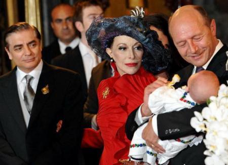 Băsescu l-a botezat pe Carol Ferdinand