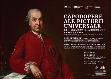 Capodopere ale unor artiști olandezi și flamanzi vor fi expuse la Oradea