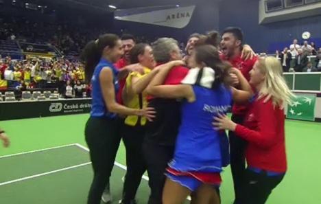 Victorie imensă! Echipa de tenis a României a învins campioana en-titre în Fed Cup (VIDEO)