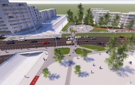 Finanţare europeană de 11 milioane euro: S-a semnat contractul pentru reabilitarea coridorului Nufărul - Cantemir din Oradea (FOTO)