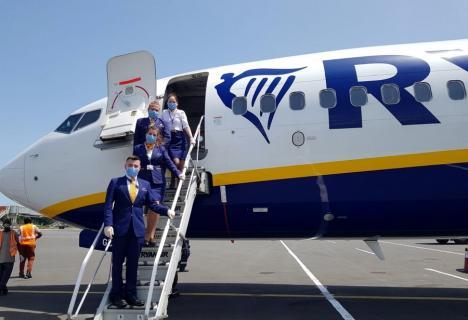 SURPRIZĂ! Oradea va avea din nou curse aeriene externe. Ryanair va zbura spre Italia, Germania şi Anglia